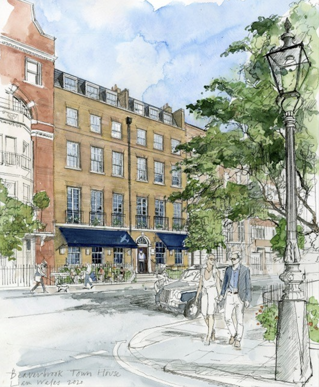 Beaverbrook Town House on Sloane Street, Chelsea will feature 14 luxury suites named after much-loved London theatres