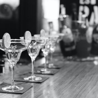 Margaritas all lined up and ready to go. (Photo by Life Of Pix from Pexels)