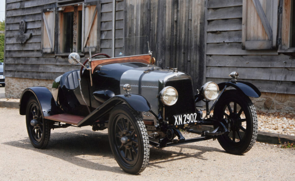The oldest surviving Aston Martin 'A3' which will celebrate its centenary will be on display at The Concours of Elegance in September at Hampton Court Palace