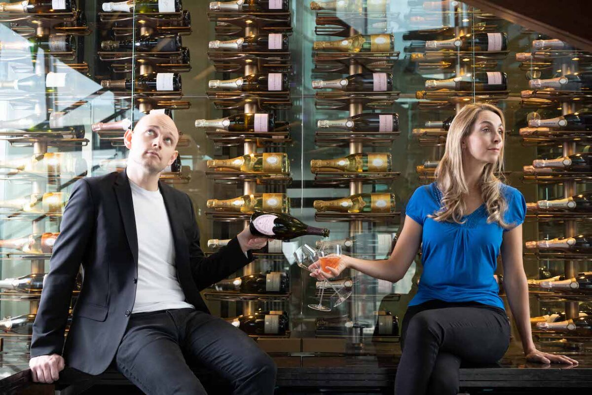 Cheers! Aidy & Helena's Easter Drinks Guide - Celebratory fizz always goes down a treat!