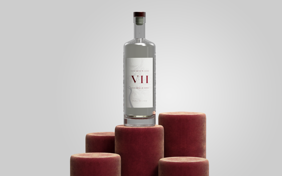 A Mother's Day Gift for gin lovers! Seven Hills gin is an Italian classic with a unique blend of flavours including juniper, chamomile and pomegranate