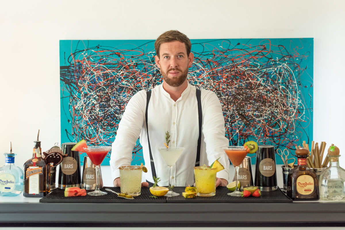 The Luxe List April 2021 - Until we can go to Ibiza, bring the bar to your living room with Southside Bar's cocktail classes