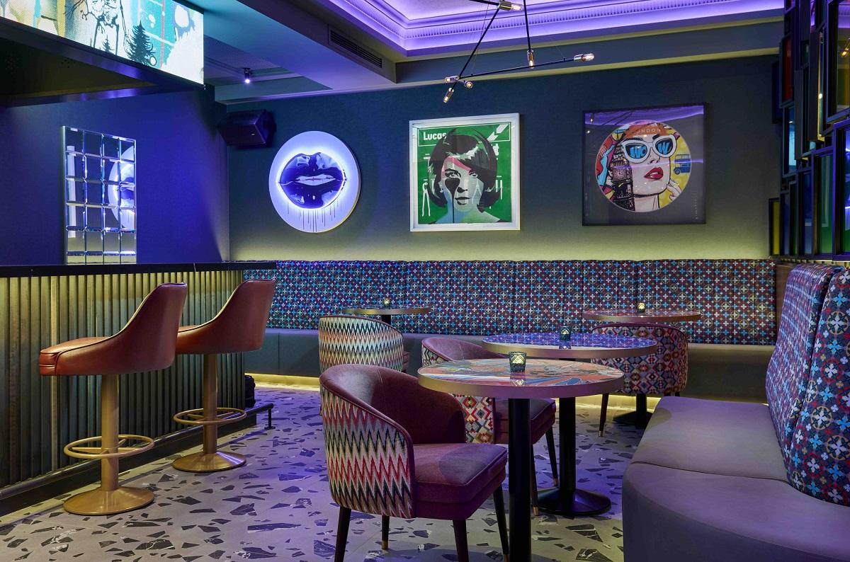 The uber-chic NYX bar at NYX Hotel London Holborn