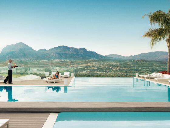 SHA outdoor pool
