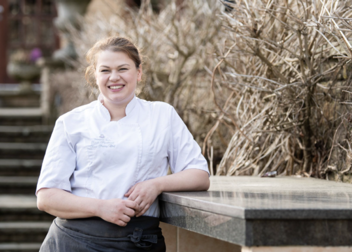 Feel Inspired on International Women's Day - Sarah Frankland, Head Pastry Chef and Chocolatier at Pennyhill Park