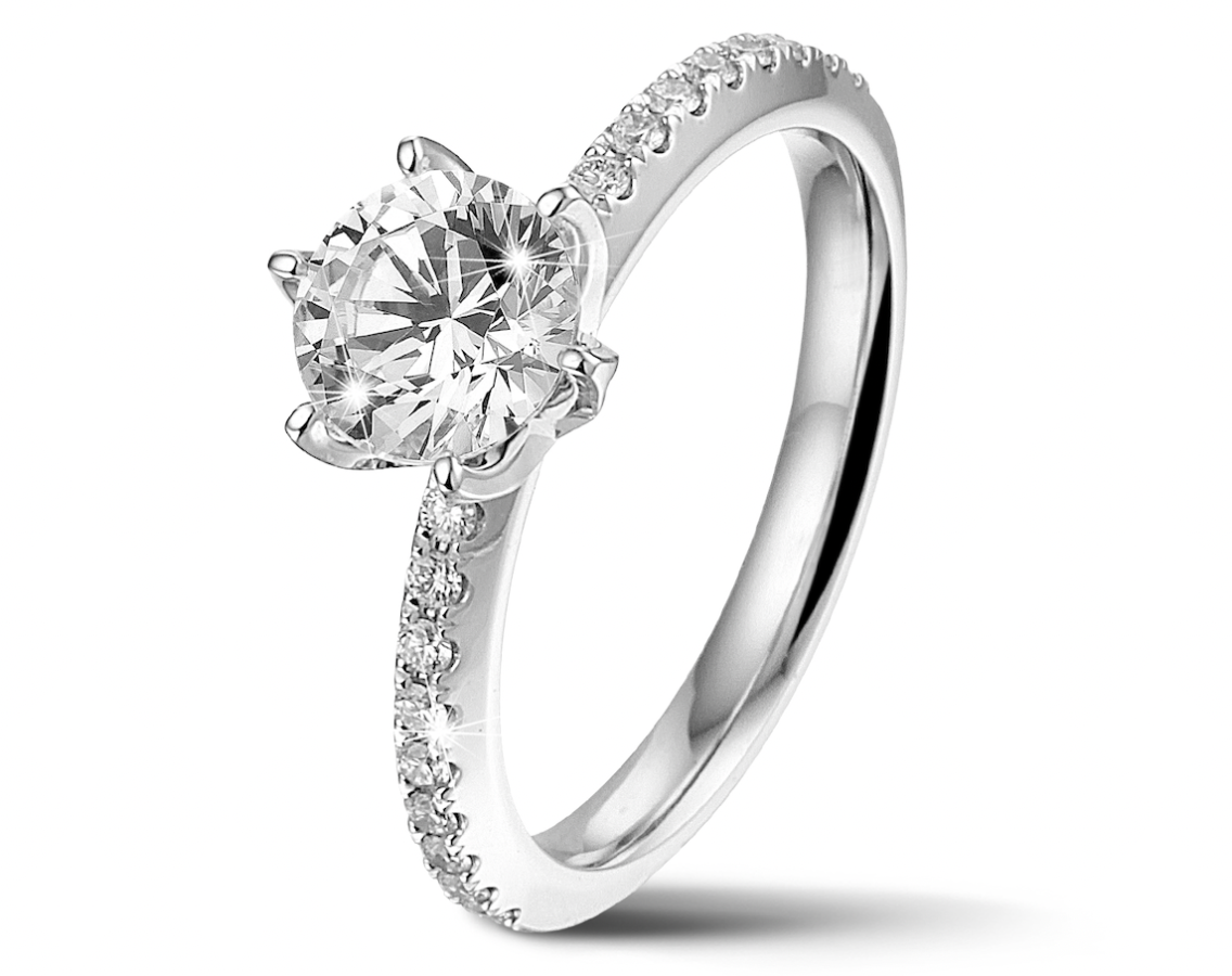 Built upon customer feedback, so that each ring has the client's wishes at heart, the BAUNAT ICONIC Collection has a stunning collection of diamond engagement rings