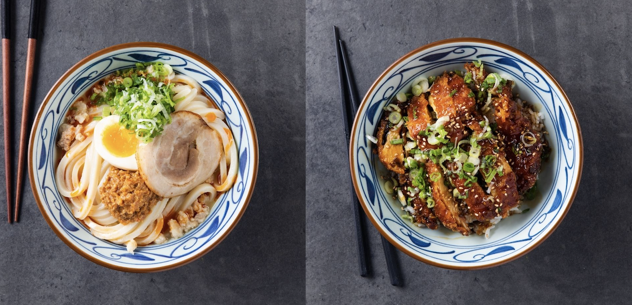 Marugame Udon will open in London's Liverpool Street this July (Allen Photography)