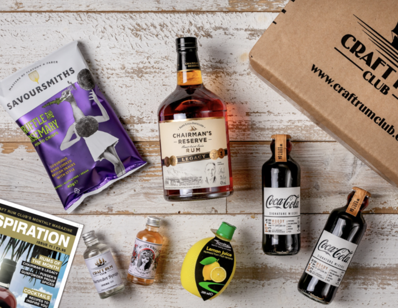 The Coolest Drinks Subscriptions - Craft Rum Club from £39.95 per month