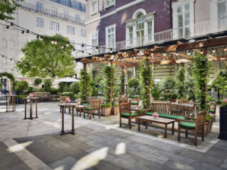 Outdoor Terraces in London to Get Dressed Up For: The Wigmore Summer Terrace & Garden - The Courtyard Garden