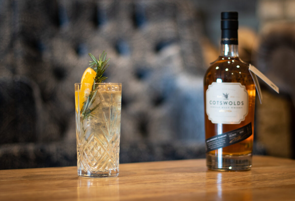 Celebrate St. George's day on 23rd April with a Whisky High Ball made with Cotswolds Distillery's Single Malt!