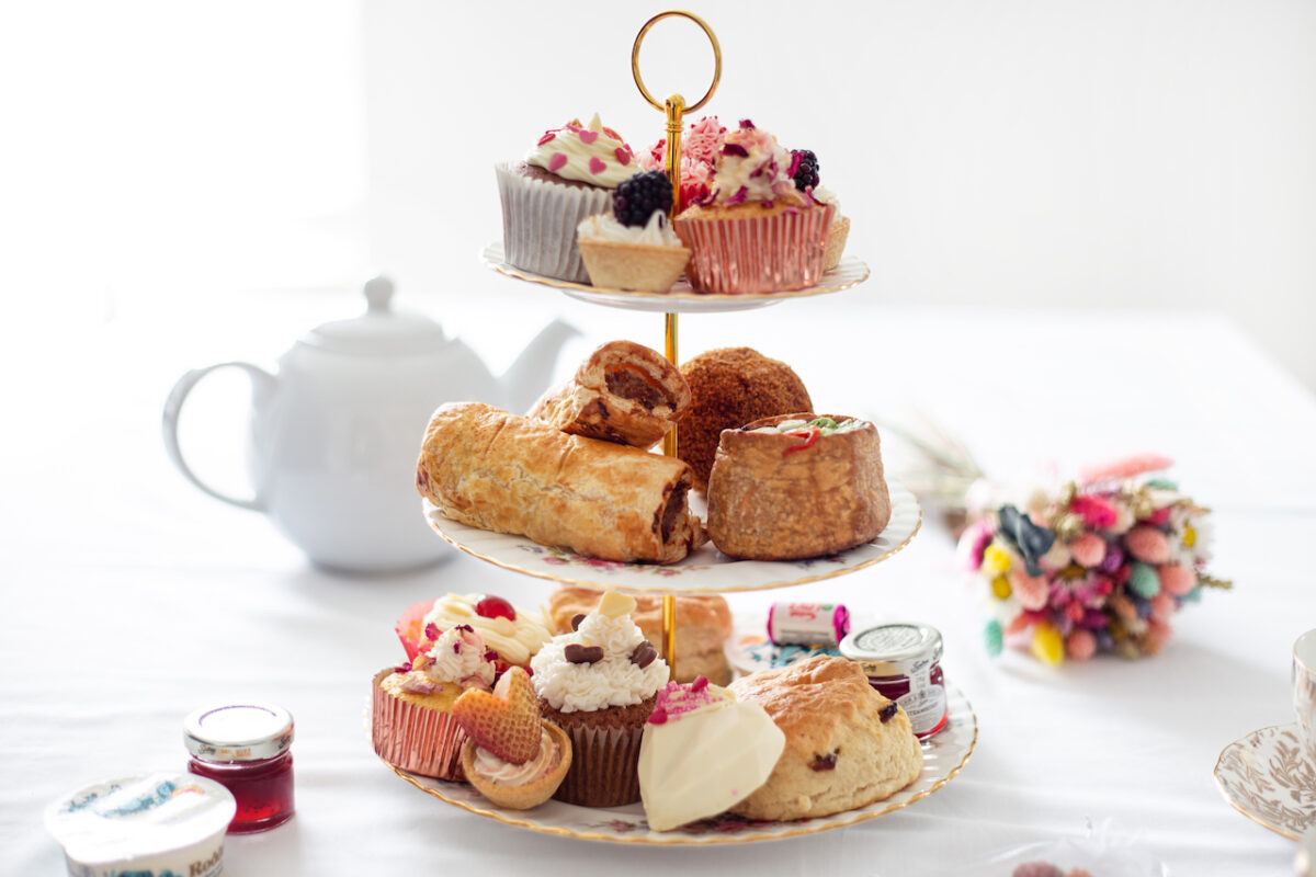 Scrumptious Mother's Day Afternoon Tea with UK wide delivery from Chouxlicious for an extra special day