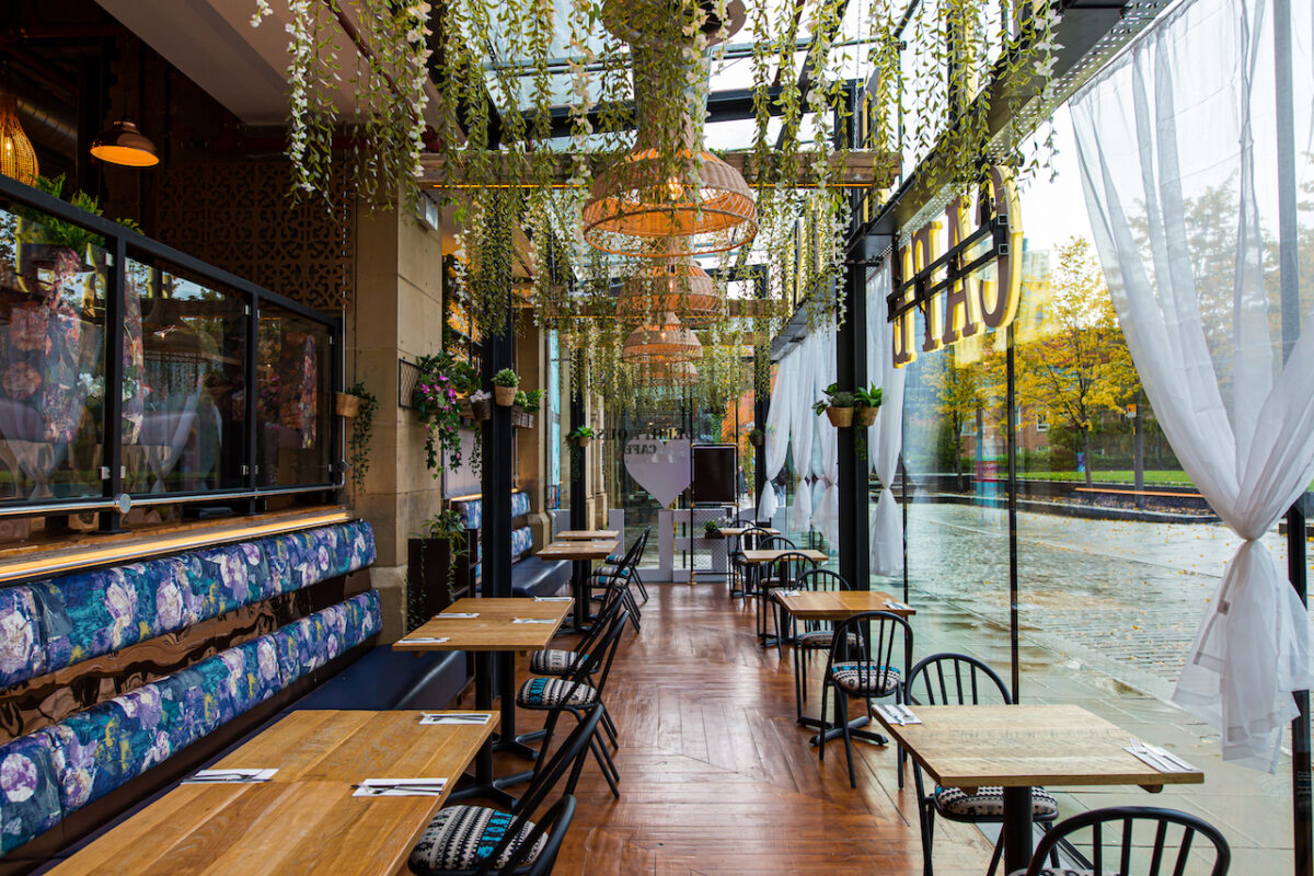 Expect true dish-disruptors at the family-run modern Manchester restaurant Delhi House Cafe