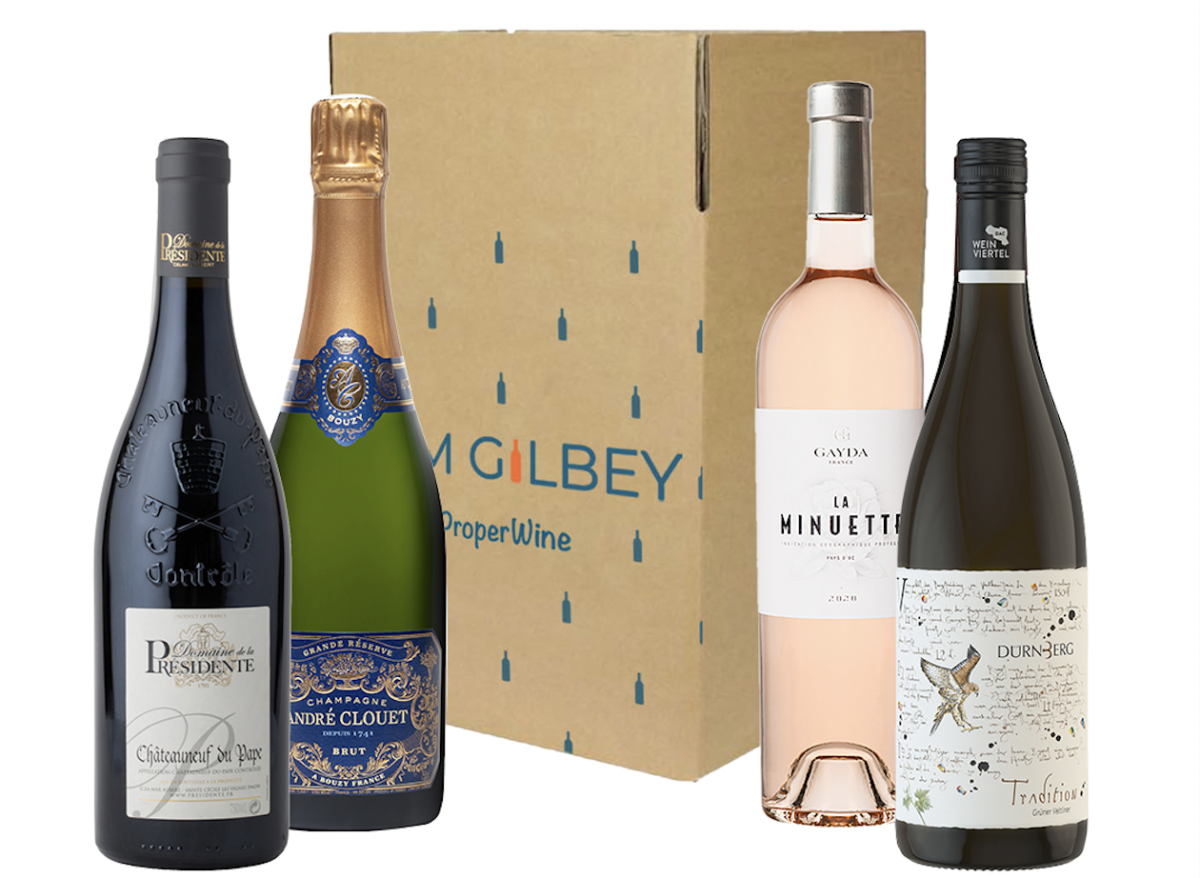 Tom Gilbey's Summer Tasting in a Box from £55 with virtual masterclass