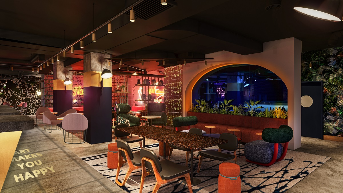 So hot right now! Manchester's MOTLEY opening at the brand new Qbic Hotel, Deansgate