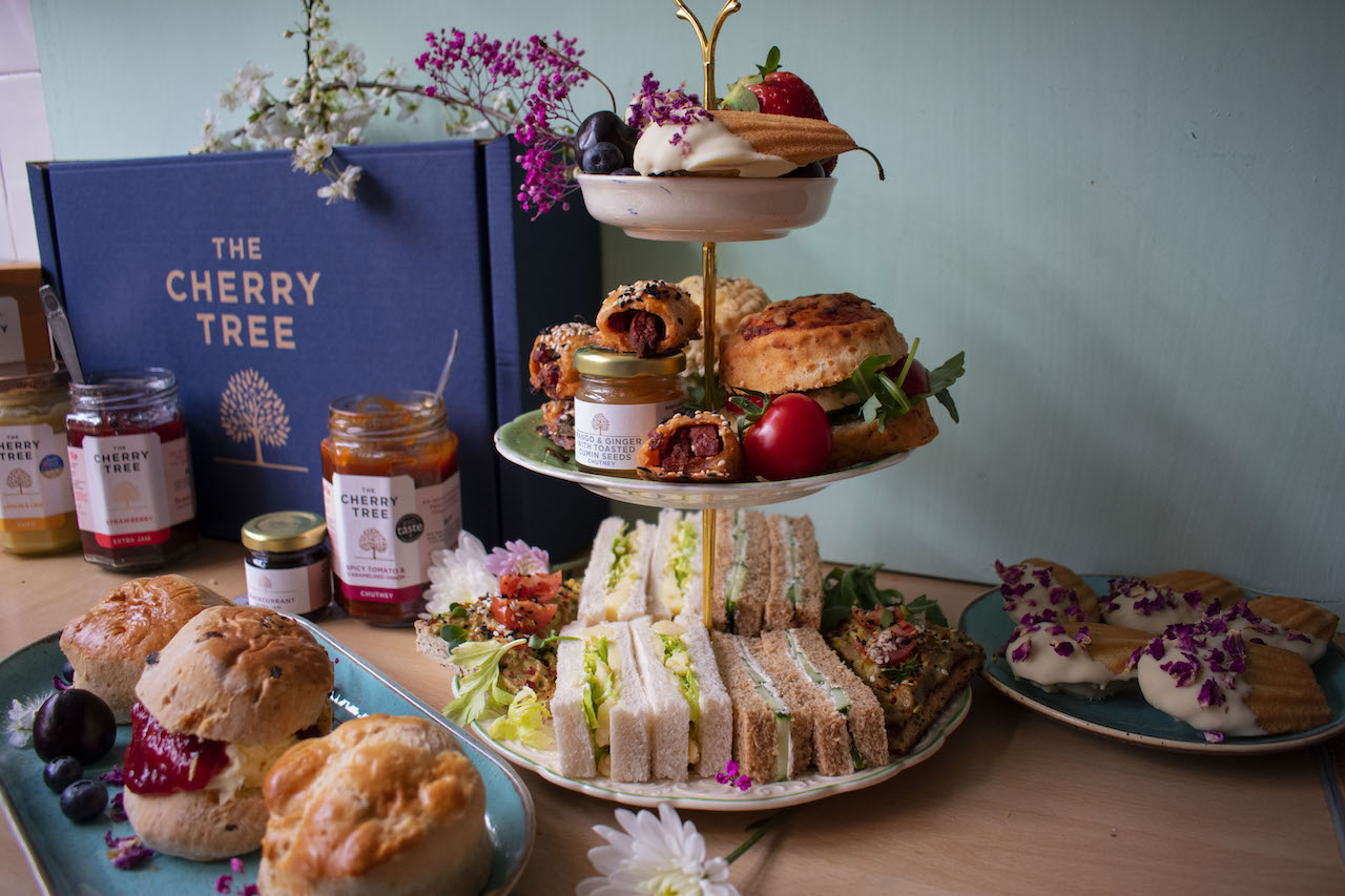 The Cherry Tree Afternoon Tea from just £24.50 - their chutneys are to-die-for!