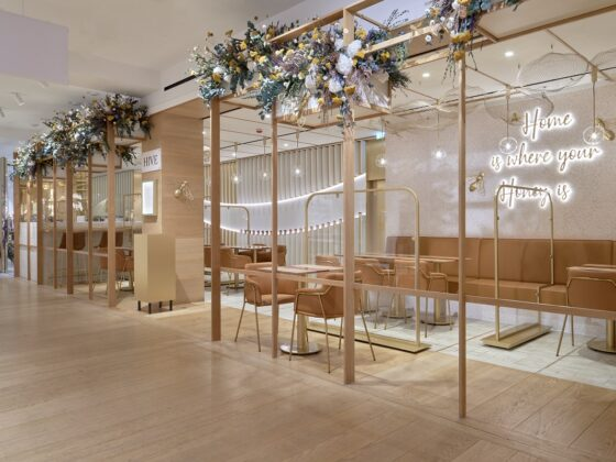 HIVE at Selfridges, where the bees do all the work and all you have to do is enjoy their incredible honey based menu