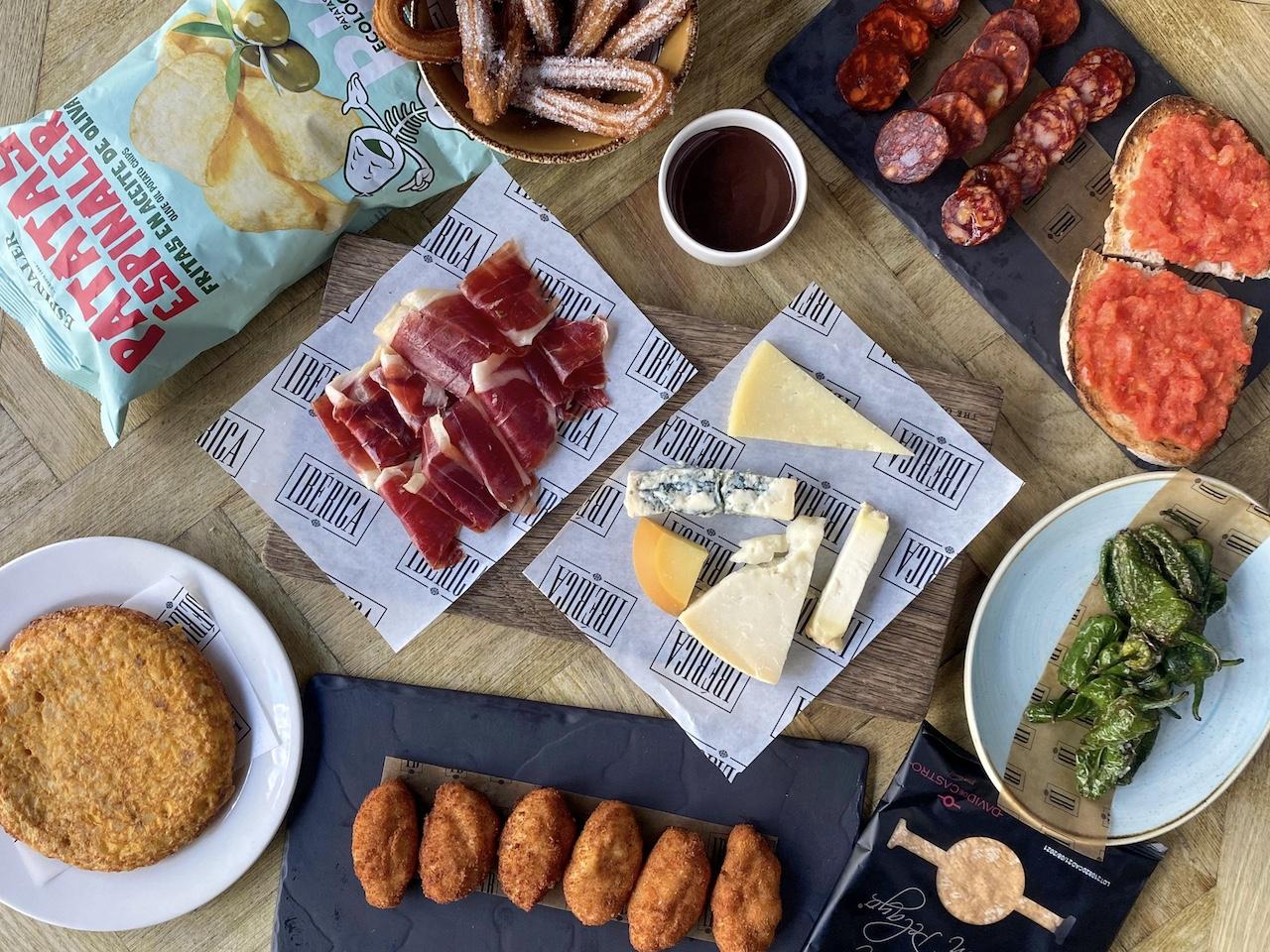 Ibérica x Estrella Galicia Picnic Hamper £40 with UK wide delivery