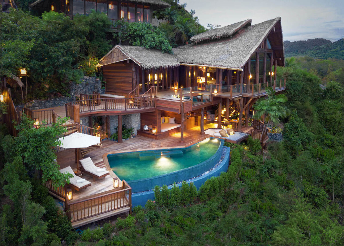 Just a one hour car and speedboat ride from Phuket awaits Six Senses with luxurious villas to relax and rejuvenate
