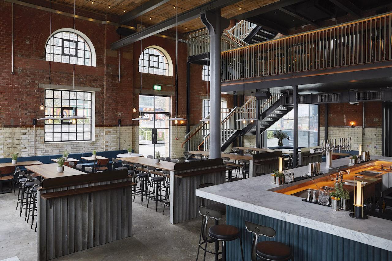 The Light Bar - a stunning new three floor culinary destination on Shoreditch High Street (Photo Credit: Ola O. Smit)