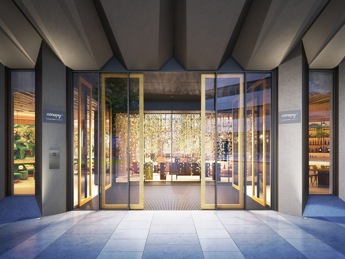 Canopy by by Hilton London City will open in the East End this summer