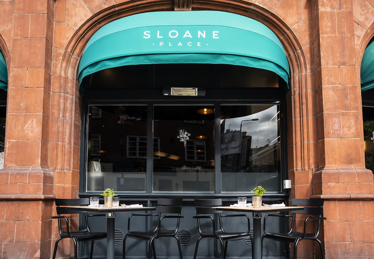 Sloane Place in Chelsea is the perfect place for a latte and a spot of people watching!