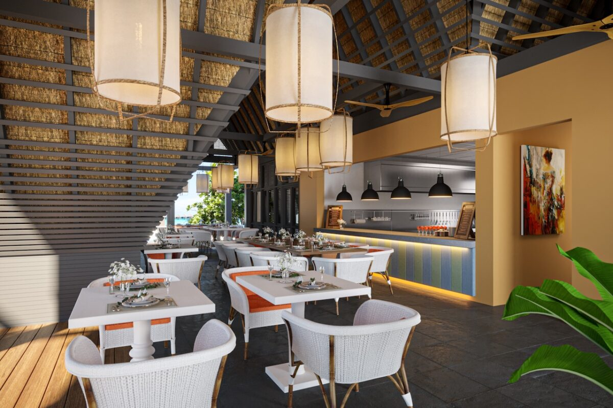 The all-inclusive meal options at Cora Cora Maldives include Asian cuisine at Ginger Moon