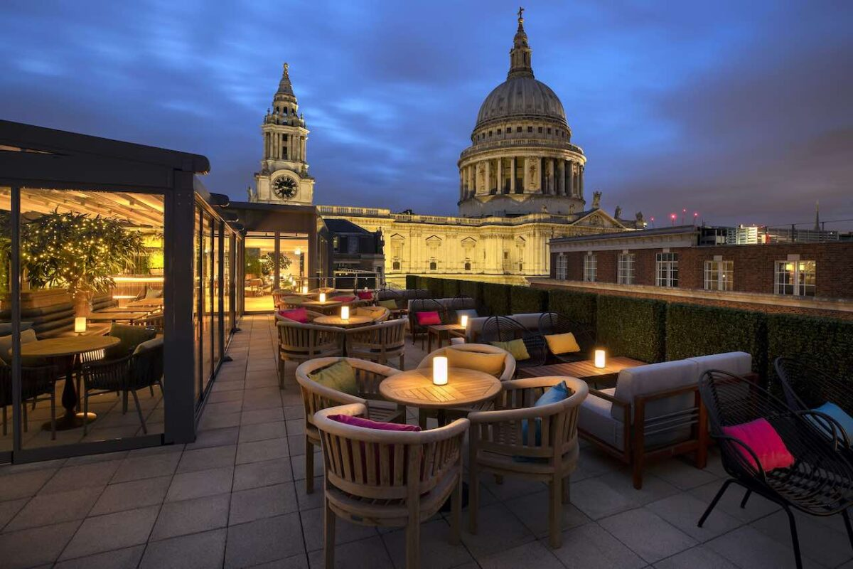 What a beauty - Sabine Rooftop Bar will open at St Paul's on May 20th with incredible views of the cathedral