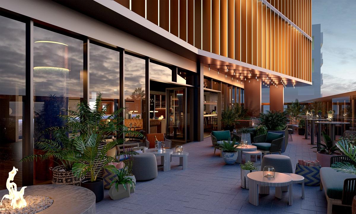 The Terrace at The Gantry, opening in Stratford in November 2021