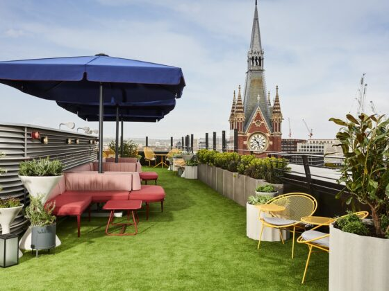 Get dressed up and try out the hot new Rooftop Terrace at The Standard, London (Photo Credit: The Standard)