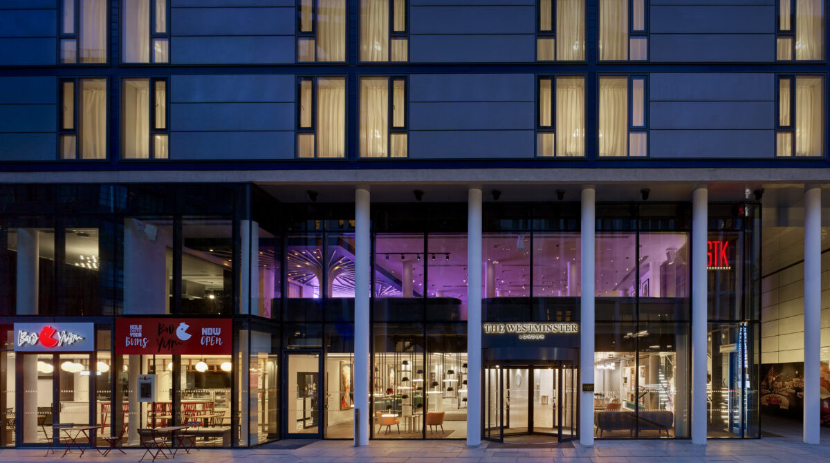 The Westminster London on Islip Street (previously a Hilton Double Tree Hotel), has undergone extensive renovation and has now full re-launched (Photo Credit: Matthew Shaw matthewshaw.co.uk)