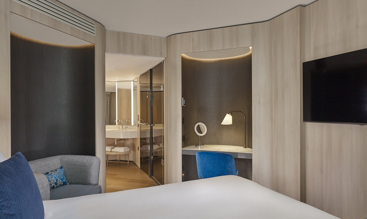 With eight grades of rooms and suites available, guests will feel right at home with mood lighting, rainfall showers, bespoke toiletries and a Nespresso machine ( (Photo Credit: Matthew Shaw matthewshaw.co.uk)