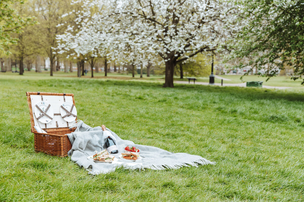 Perfect for National Picnic Week, grab your gourmet hamper form The Athenaeum for just £45 for lunch or afternoon tea in the park!