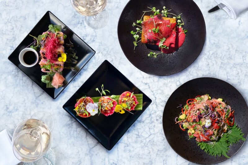 Think pink this July with a luxe Blush Brunch at The Rooftop at Trafalgar St. James