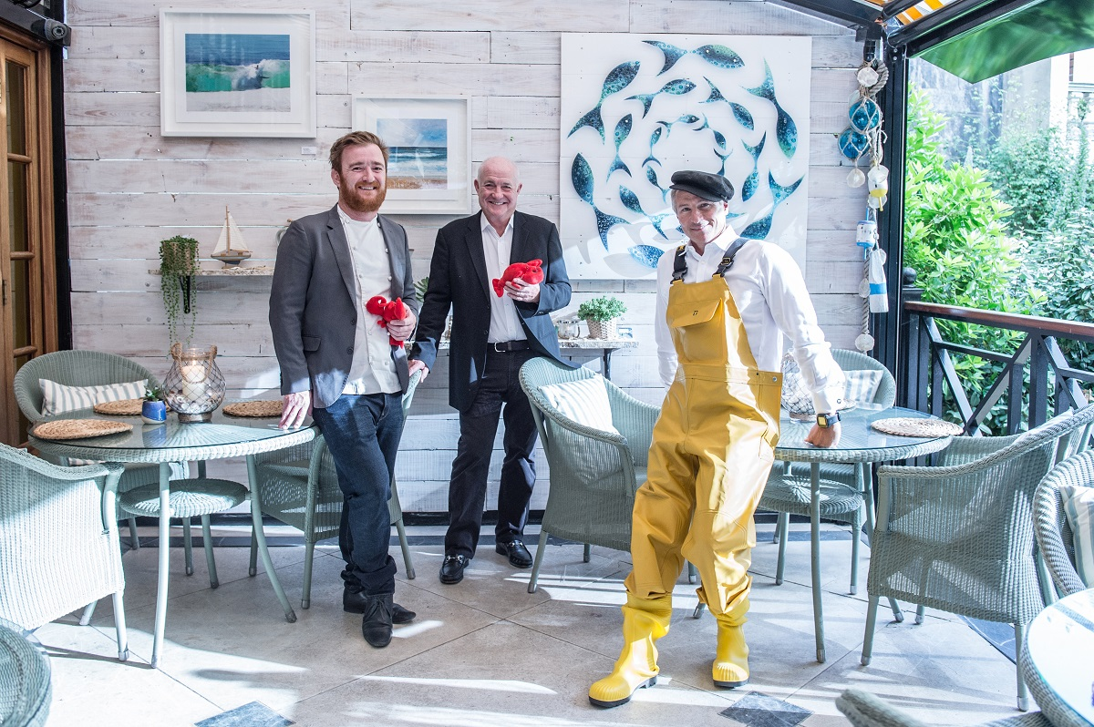 The Luxe List June - Rick Stein, Jack and Jeremy will be answering your questions after a gorgeous lunch during their week long residence at The Goring