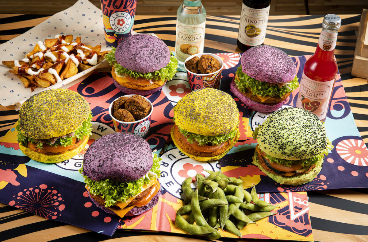 You'll be spoiled for choice with the range of Flower Burger's on offer! (Photo Credit: John Carey)