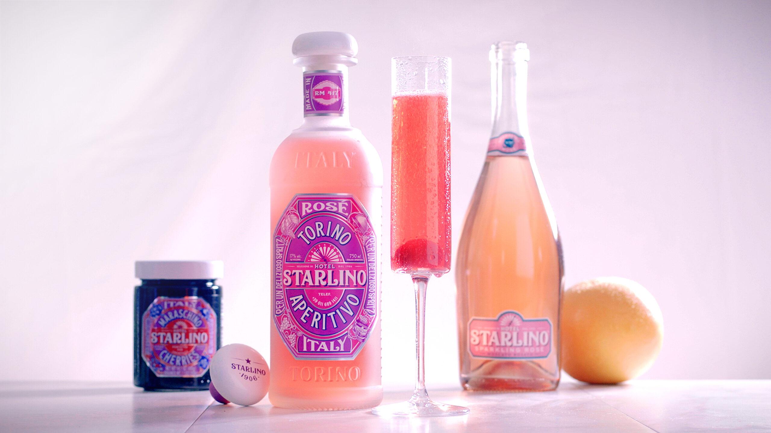 Stalino Italian Sparkling Rosé, from £17.98
