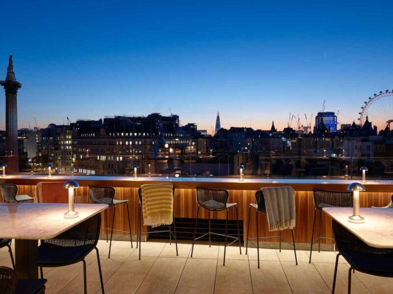 Look at that! The Rooftop views at The Trafalgar St. James Hotel
