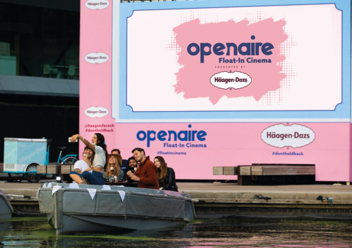 The Luxe List June 2021: This is totally floating our boat - Openaire Float-in Cinema by Häagen-Dazs