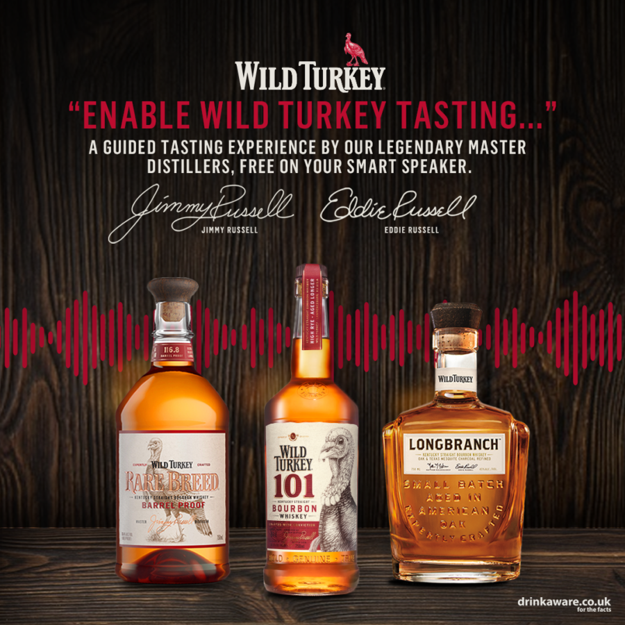 The Luxe List June 2021: Why not try a guided tasting with Wild Turkey Bourbon Whiskey?