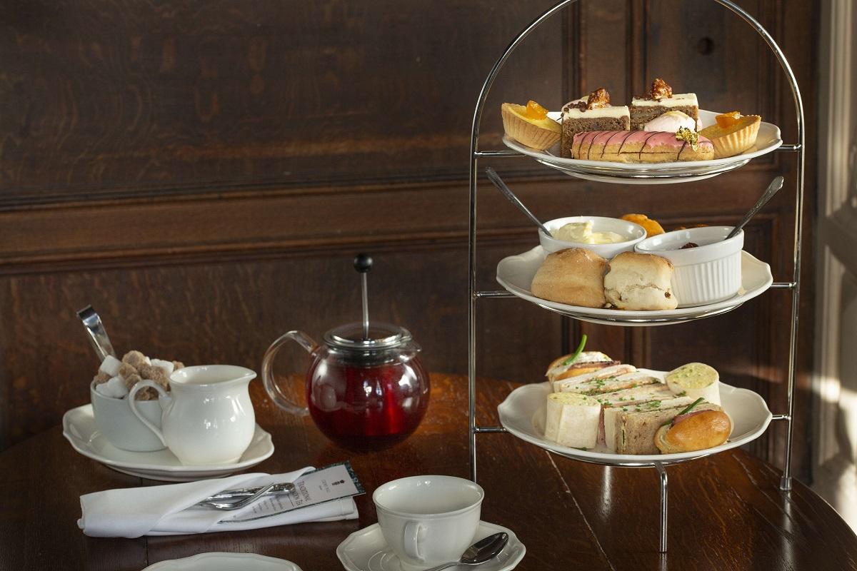Afternoon Tea at Crewe Hall is a lavish affair in the lavish Oak Parlour