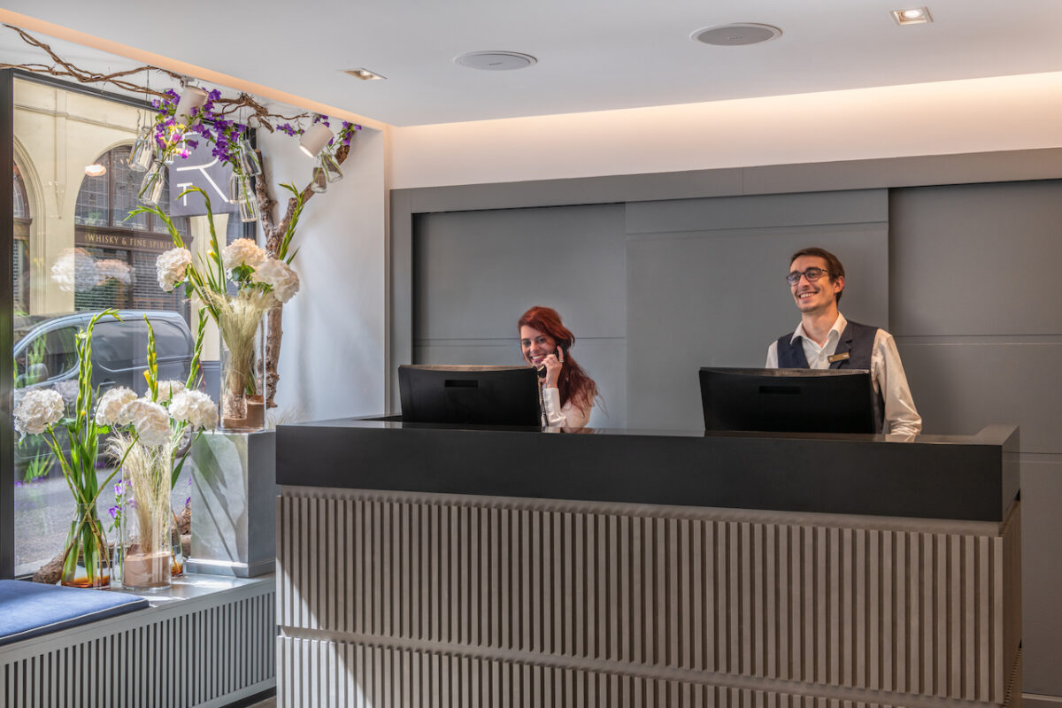 Some of the nicest staff we've experienced! And the most stunning floral arrangements at The Resident Covent Garden