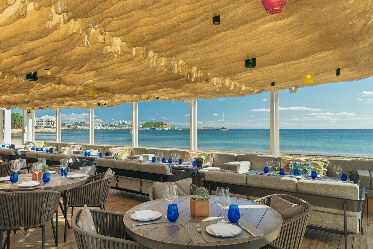 Keep your cool at relaxed beach restaurant Chiringuito Blue at W Ibiza
