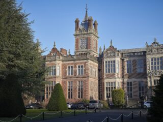 Crewe Hall is a 17th Century former mansion house nestled among 8 acres of glorious greenery