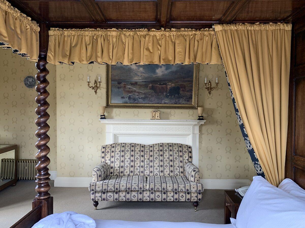 Crewe Hall bedroom