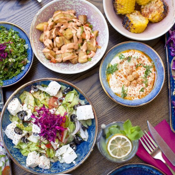Tasty and delicious with fresh, traditional Lebanese flavours - expect a real feast at Massis Paddington