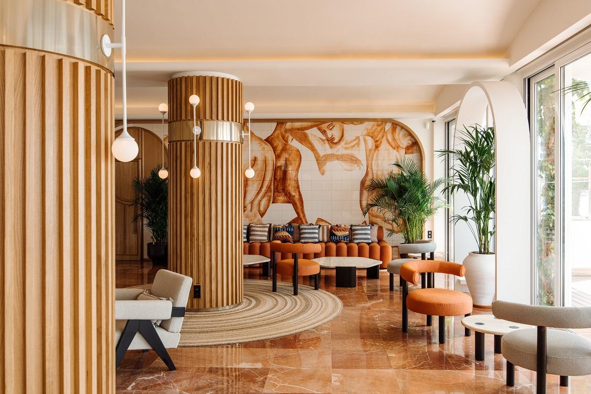 Hotel Riomar - a stylish boutique hotel has just opened at Santa Eulalia Bay