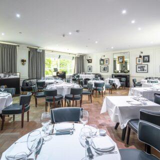 Sumosan Twiga's beautiful big dining room, complete with DJ after dark...