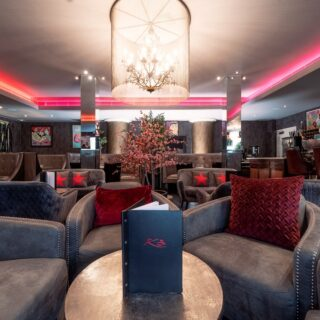Review of London's hottest rock star hotel - Karma Sanctum Soho with boutique room and all night hot tub rooftop terrace