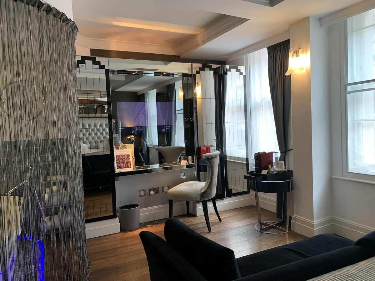 Glitz, glam and Art Deco - the 30 boutique bedrooms at Karma Sanctum Soho ooze rock star chic
