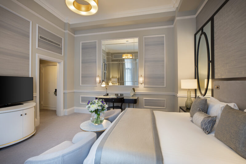 Superior Room at the newly refurbed Midland Hotel in Manchester